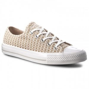 CONVERSE ALL STAR CTAS GEMMA OX ROPE/WHITE/MOUSE
