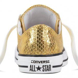 CONVERSE ALL STAR CTAS OX GOLD/BLACK/WHITE