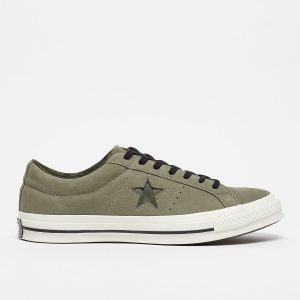 CONVERSE ONE STAR OX DARK STUCCO/EGRET/HERBAL
