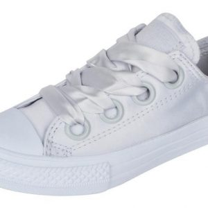 CONVERSE ALL STAR CTAS BIG EYELET OX PURE PLATINUM/PURE PLATINUM