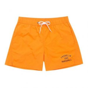 FRANKLIN&MARSHALL BEACHWEAR BRIGHT ORANGE