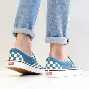 VANS CLASSIC SLIP-ON (CHECKERBOARD)CORSAIR/TR