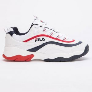 FILA RAY F LOW WHITE/FILA NAVY/FILA RED