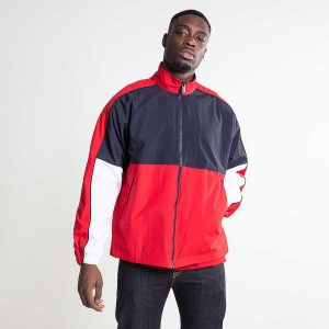 CARHARTT TERRACE JACKET DARK NAVY/CARDINAL/WHITE