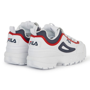 FILA DISRUPTOR CB LOW WHITE/FILA NAVY/FILA RED