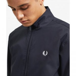 FRED PERRY TWIN TIPPED SPORTS JACKET NAVY