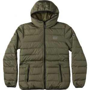 DC SHOES CASACO MENS TURNER PUFFER FATIGUE GREEN
