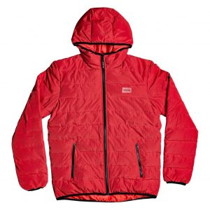 DC SHOES CASACO MENS TURNER PUFFER RACING RED